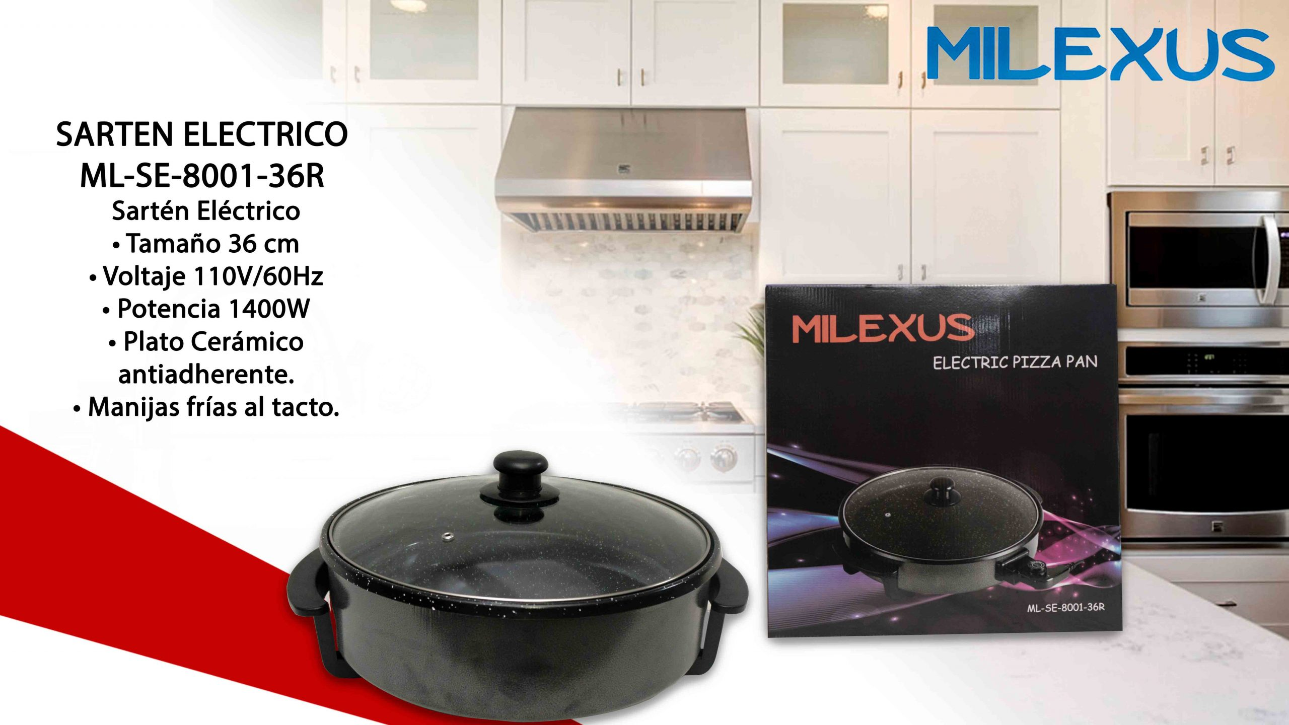 Milexus Electric Pizza Pan B Singh Trading